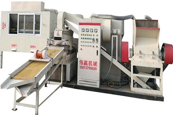 全自动铜米机处理废旧杂线成为投资新亮点