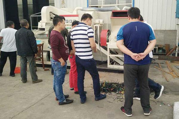 600小型铜米机的质量和品质是伟赢机械的灵魂