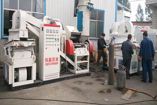 干式铜米机对环境无污染