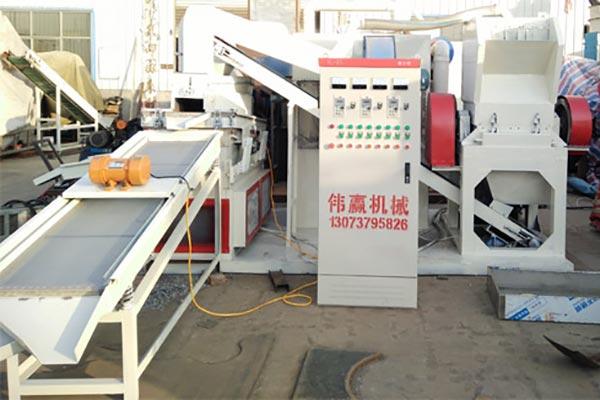 干式铜米机分选技术与环保技术的应用