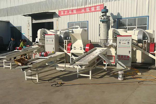 干式铜米机粉碎与分选方式